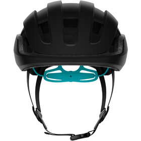 POC Omne Air Spin Casco, uranium black/kalkopyrit blue matt